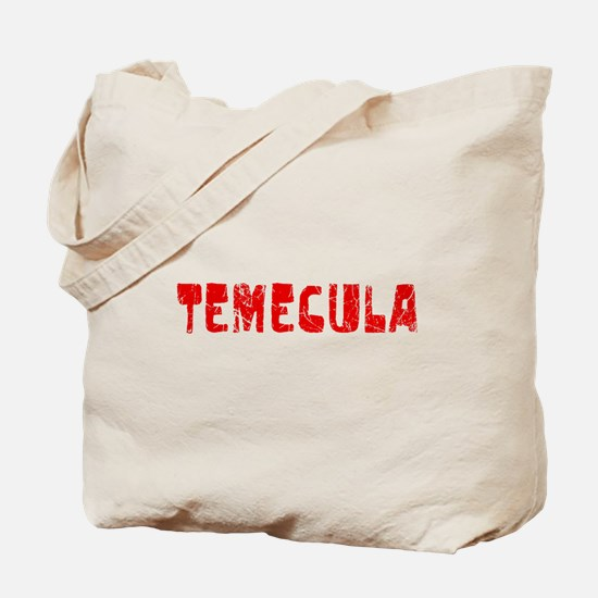 Temecula Faded (Red) Tote Bag