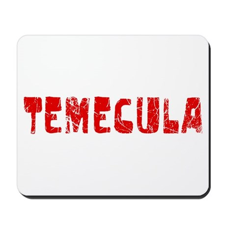 Temecula Faded (Red) Mousepad