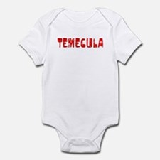 Temecula Faded (Red) Infant Bodysuit