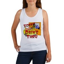 Zombie Drive Thru Women's Tank Top