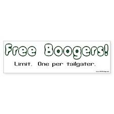 Booger Bumper Sticker Bumper Bumper Sticker