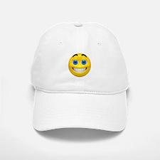 Happy Cheesy Face Baseball Baseball Cap