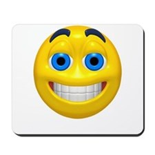 Happy Cheesy Face Mousepad
