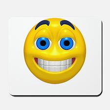 Happy Cheesy Face Mousepad