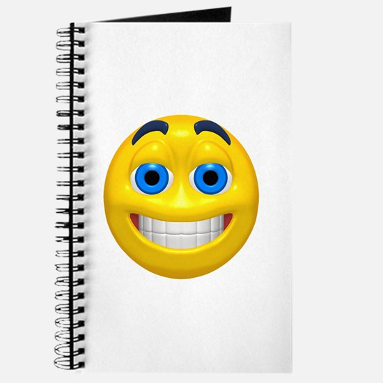 Happy Cheesy Face Journal