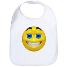 Happy Cheesy Face Bib