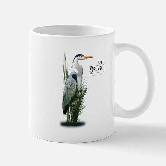 Heron Watch Notes Mugs