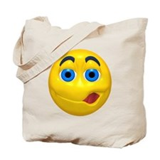 Psst! Come Here Face Tote Bag