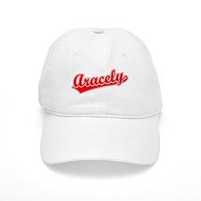 Retro Aracely (Red) Baseball Cap