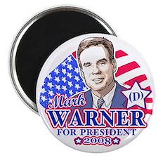 Mark Warner 2008 Magnet