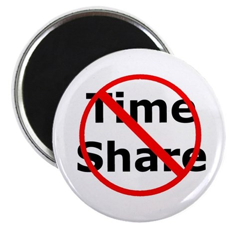 No Time Share magnet