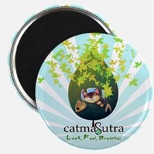 Earth Day Catmasutra Smile Ge Magnet