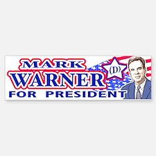 Mark Warner 2008 Bumper Bumper Bumper Sticker