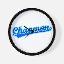 Retro Chapman (Blue) Wall Clock
