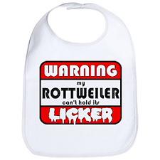 Rottweiler LICKER Bib