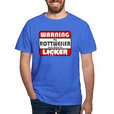Rottweiler LICKER T-Shirt