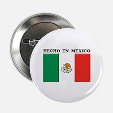 """Hecho en Mexico 2.25"""" Button"""