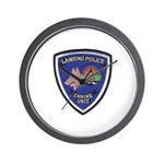 Lansing PD Canine Wall Clock