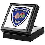 Lansing PD Canine Keepsake Box