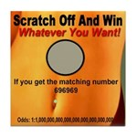 Scratch Off And Win Whatever Tile Coaster