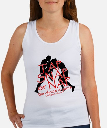 TAP SNAP OR NAP, THE CHOICE I Women's Tank Top