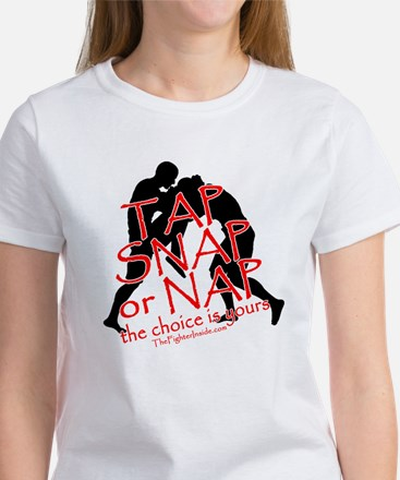 TAP SNAP OR NAP, THE CHOICE I Women's T-Shirt