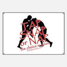 TAP SNAP OR NAP, THE CHOICE I Banner