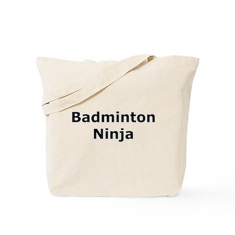 Badminton Ninja Tote Bag