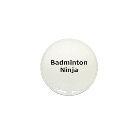 Badminton Ninja Mini Button