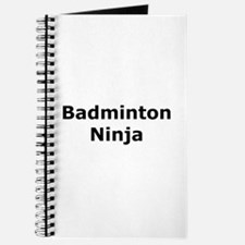Badminton Ninja Journal