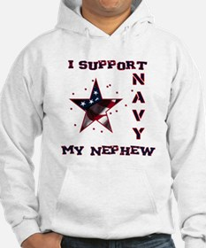 I support my Nephew Jumper Hoody