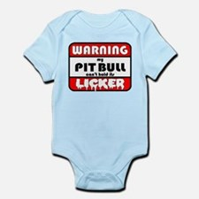Pit Bull LICKER Infant Bodysuit