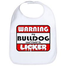 Bulldog LICKER Bib