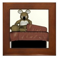 Koala Massage Framed Tile