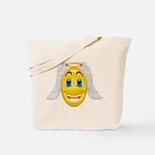 Cute Angel with Wings Tote Bag