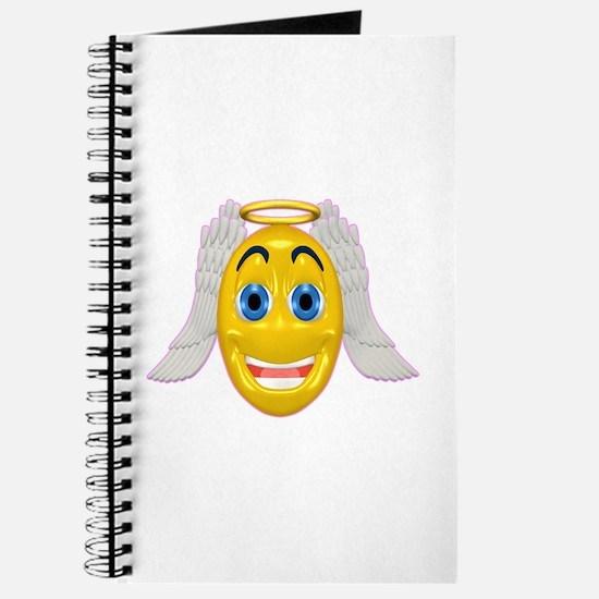 Cute Angel with Wings Journal