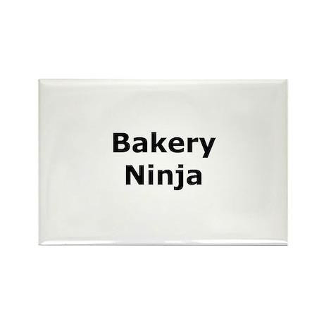 Bakery Ninja Rectangle Magnet (10 pack)