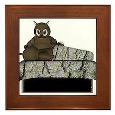 Owl Massage Framed Tile
