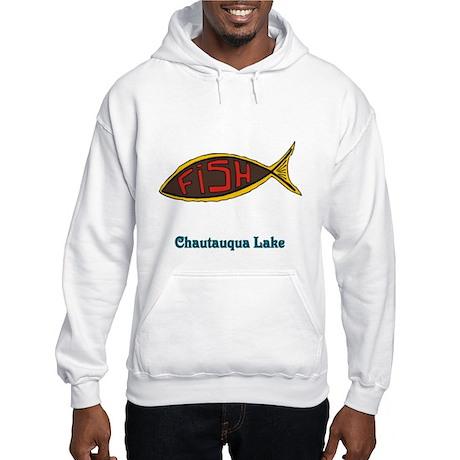 Fish in Fish Hooded Sweatshirt