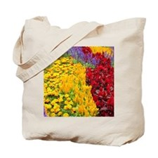 Colourful Flowerbed, Sydney Tote Bag