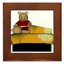 Bear Massage Framed Tile