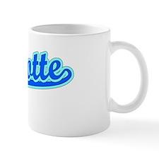Retro Charlotte (Blue) Small Mug