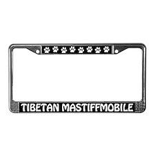 Tibetan Mastiffmobile License Plate Frame