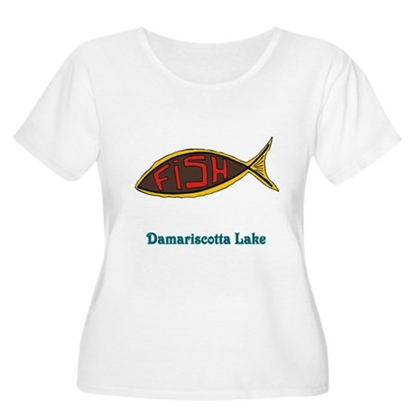 Fish in Fish Women's Plus Size Scoop Neck T-Shirt
