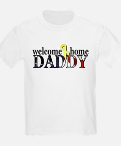 Welcome Home Daddy, Flag Desi T-Shirt
