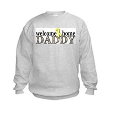 Welcome Home Daddy, ACU Desig Sweatshirt