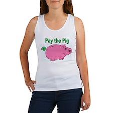 Cute Piggy bank Women's Tank Top
