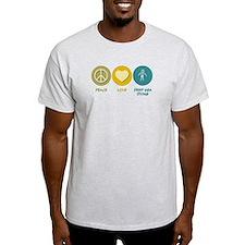 Peace Love Deep Sea Diving T-Shirt