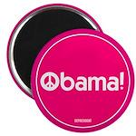 Pink Obama Peace 2.25