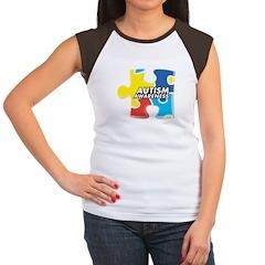 Autism Awarness Puzzle Women's Cap Sleeve T-Shirt